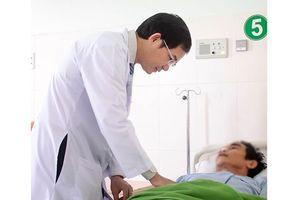 Phẫu thuật thành công bệnh nhân có khối u dạ dày 2kg