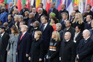 Dàn lãnh đạo Mỹ, Nga, Pháp và Đức thảo luận các vấn đề toàn cầu trong bữa trưa