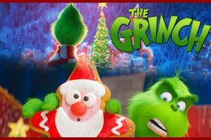 'The Grinch' trang hoàng các rạp chiếu bằng không khí Giáng sinh ấm cúng