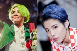 Vũ Cát Tường đích thị là sao Việt lập kỷ lục về số màu tóc, màu nào cũng chất chơi hơn phần thiên hạ