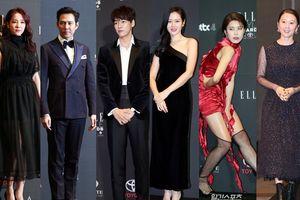 Thảm đỏ 'Elle Styles Awards 2018': Son Ye Jin khoe vai trần, Jang Do Yeon chiếm 'spotlight' vì tạo dáng siêu bựa