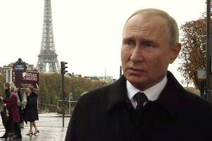 Tổng thống Putin lên tiếng về ý tưởng lập quân đội chung châu Âu