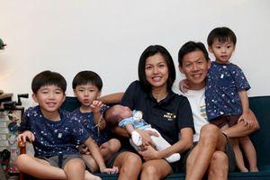 Gia đình 6 người có ngày sinh trùng với tháng