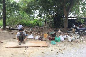 Bụi gỗ bao trùm làng nghề điêu khắc, mỹ nghệ Sơn Đồng