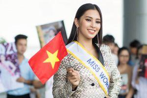 Hoa hậu Tiểu Vy rạng rỡ trong cuộc thi Miss World tại Trung Quốc
