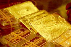 Đầu tuần, giá vàng tiếp tục đà giảm