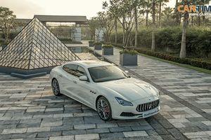 Chiêm ngưỡng xe quý tộc Maserati Quattroporte GTS GranLusso tại Việt Nam