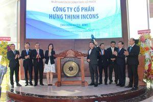 25 triệu cổ phiếu Hưng Thịnh Incons tăng mạnh khi vừa chào sàn HOSE