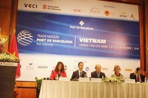 Đẩy mạnh thương mại cảng biển Việt Nam-Tây Ban Nha