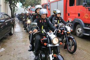 Công an TP Hà Nội tổ chức Lễ triển khai đơn vị CSCĐ tại huyện Quốc Oai