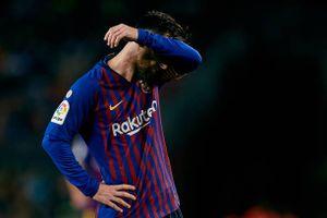 Toàn cảnh Barca 3-4 Betis: Messi chẳng phải thánh nhân