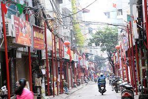 Tuyến phố 'kiểu mẫu' thứ 2 ở Hà Nội đang dần hình thành