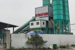 Bê tông Hà Thanh không được xây Trạm nghiền xi măng 500.000 tấn/năm tại Sóc Trăng