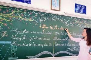 Nét chữ đẹp mê hồn của giáo viên tiểu học ở Bà Rịa - Vũng Tàu