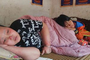 Bị ung thư, người mẹ nghèo chỉ mong có tiền chữa bệnh cho hai con nhỏ