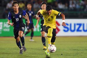 Malaysia ghi 2 bàn cuối trận, chật vật ngược dòng thắng tuyển Lào