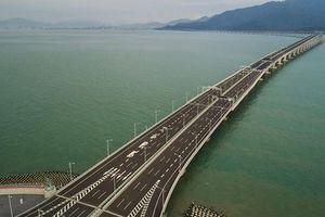 Trung Quốc sẽ phủ sóng mạng 5G trên cây cầu vượt biển dài nhất thế giới
