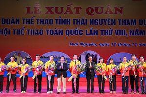 Thái Nguyên tổ chức Lễ xuất quân tham dự Đại hội Thể thao toàn quốc lần thứ VIII