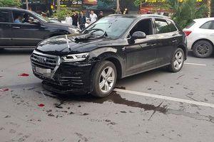 Vụ xe sang Audi lùi vun vút gây tai nạn liên hoàn trên phố Hà Nội: Tài xế khai gạt nhầm số nên cuống