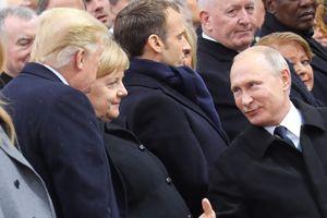 Cuộc gặp ngắn giữa hai Tổng thống Nga - Mỹ