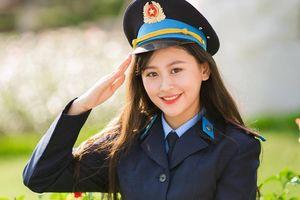 Hoa khôi Imiss Thăng Long là nữ sinh cảnh sát 20 tuổi, cao 1,72 m