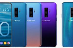 Galaxy S10 ra mắt đầu năm 2019 cùng Galaxy F màn gập