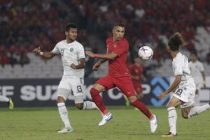 Thắng ngược dòng Timor Leste 3-1, Indonesia hồi sinh cơ hội đi tiếp