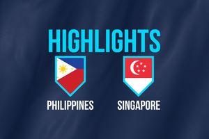 Highlights AFF Cup: ĐT Philippines 1-0 ĐT Singapore
