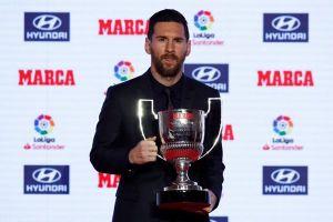 Lionel Messi giành giải cầu thủ xuất sắc nhất La Liga