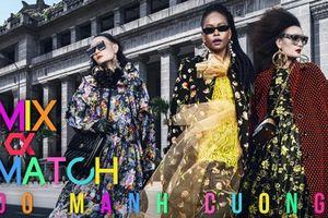 Mix & Match, show Thu - Đông của NTK Đỗ Mạnh Cường