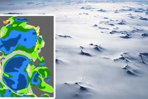Phát hiện mới về lục địa lãng quên bên dưới Nam Cực lạnh giá