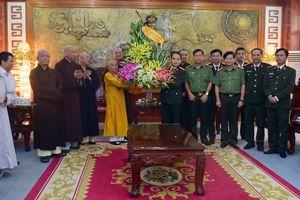 Ban trị sự GHPG Việt Nam tỉnh chúc mừng tân Giám đốc CA TT-Huế