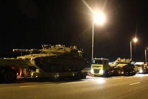 Xe tăng Israel ùn ùn tiến về Gaza, nguy cơ xảy ra xung đột lớn