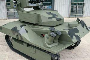Belarus giới thiệu robot chiến đấu mới