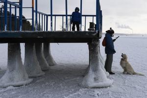 Nga: Cảnh 'bà chúa' băng giá đẹp ấn tượng lúc chớm Đông