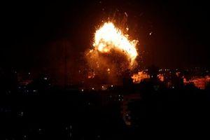 Israel đánh bom Đài Truyền hình Hamas ở Gaza