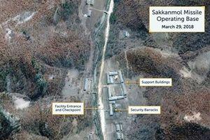 Mỹ: Những cơ sở tên lửa ngầm của Triều Tiên vẫn đang hoạt động