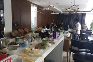 Bắt quả tang 10 nam nữ thác loạn trong 'tiệc ma túy' tại căn hộ Mường Thanh