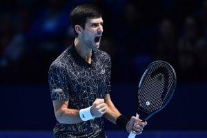 Djokovic và Zverev cùng thắng ở trận ra quân giải ATP Finals 2018