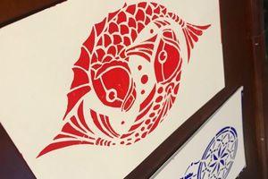 Độc đáo nghệ thuật Katagami