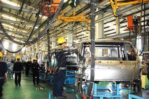 10 tháng năm 2018, sản xuất công nghiệp tăng 10,4%