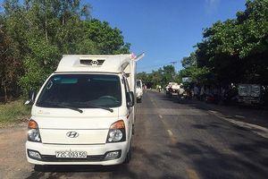 Bình Thuận: Xe đông lạnh tông xe quân sự, 2 quân nhân tử vong