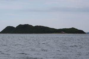 Độc đáo đảo Phật Nằm