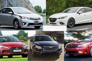 Những thay đổi mới của thị trường ô tô tháng 10