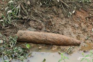 Phá hủy thành công quả bom nặng 300kg ở Nghệ An