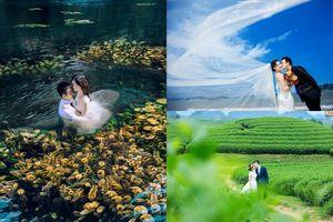 Từ 5-7 triệu đồng, đi đâu chụp ảnh cưới 'đẹp hết nấc' ở miền Bắc?