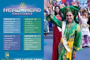 Trần Tiểu Vy rơi vào nhóm nặng ký khi phải 'đối đầu' với các Hoa hậu Ấn Độ, Ai Cập tại Miss World 2018