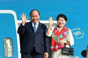 Thủ tướng Nguyễn Xuân Phúc lên đường dự Hội nghị Cấp cao ASEAN 33