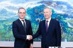 Trung Quốc và Đức cam kết đẩy mạnh quan hệ song phương