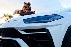 Diện kiến siêu SUV Lamborghini Urus đầu tiên về Việt Nam